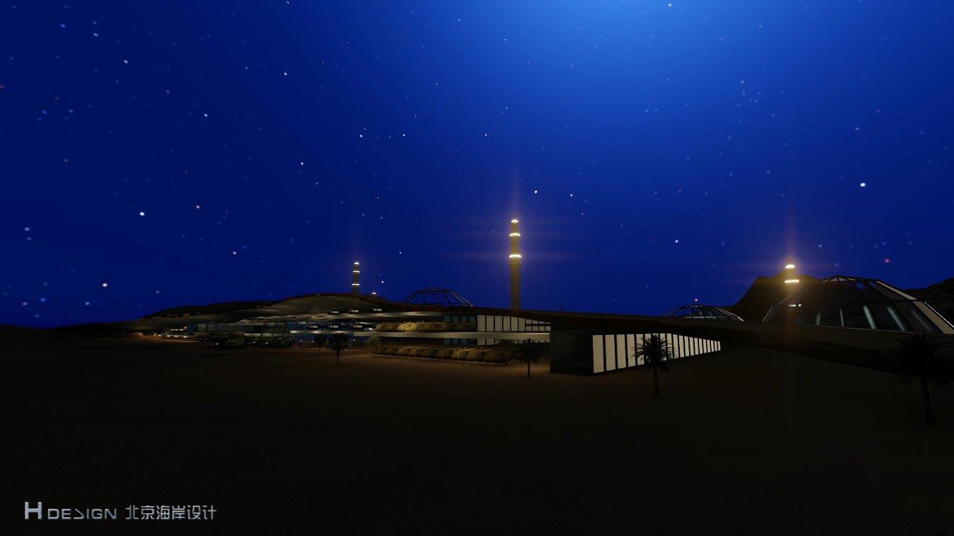 中阿军事论坛馆设计