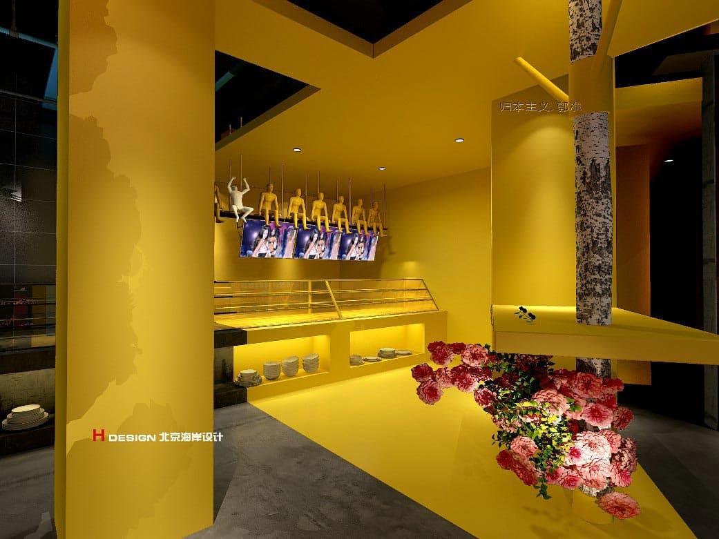北京李嘉嘉串串香火锅餐厅设计