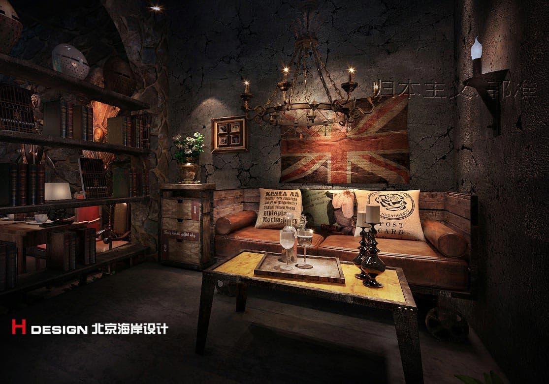 黑龙江漫猫咖啡-酒店设计|餐厅设计|咖啡厅设计|网咖