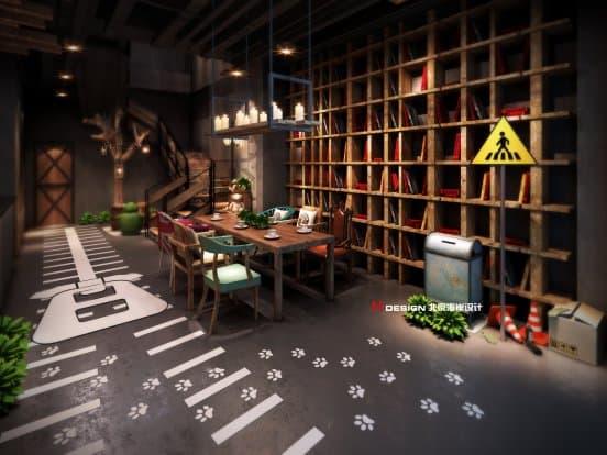 咖啡馆与书咖啡馆设计