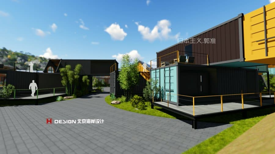 北京海岸设计|归本主义|设计师郭准先生|商业空间规划|室内外建筑设计|商业街景观设计