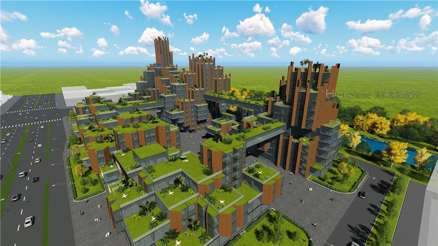 博多创业产业园 设计概念