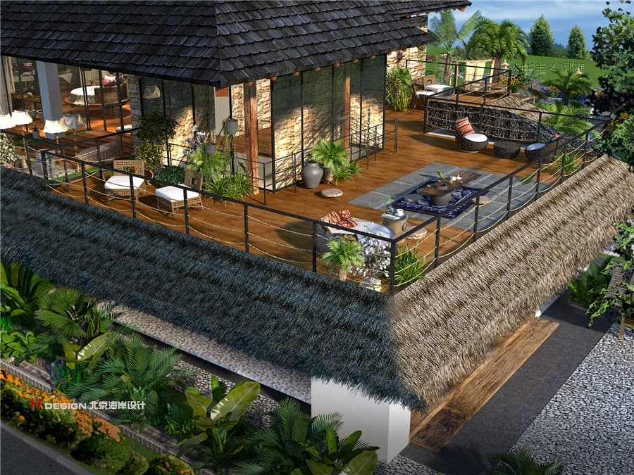 六度别院小镇建筑设计