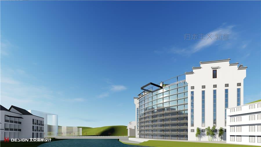镇远酒店建筑设计位于贵州,面积为28615㎡.