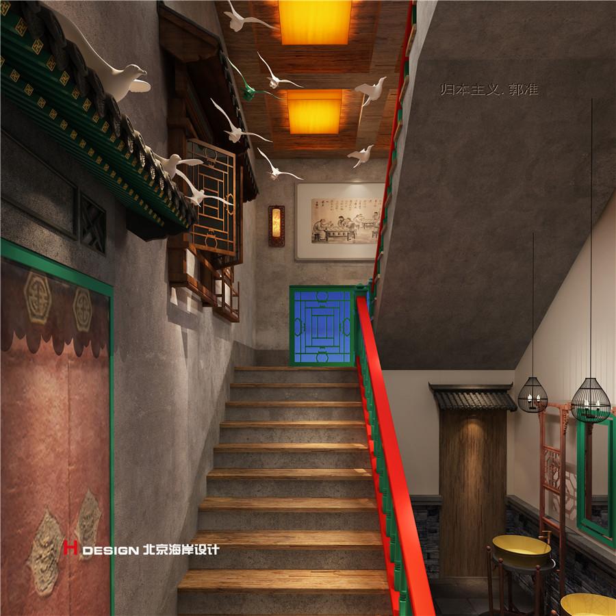 福口居餐厅设计