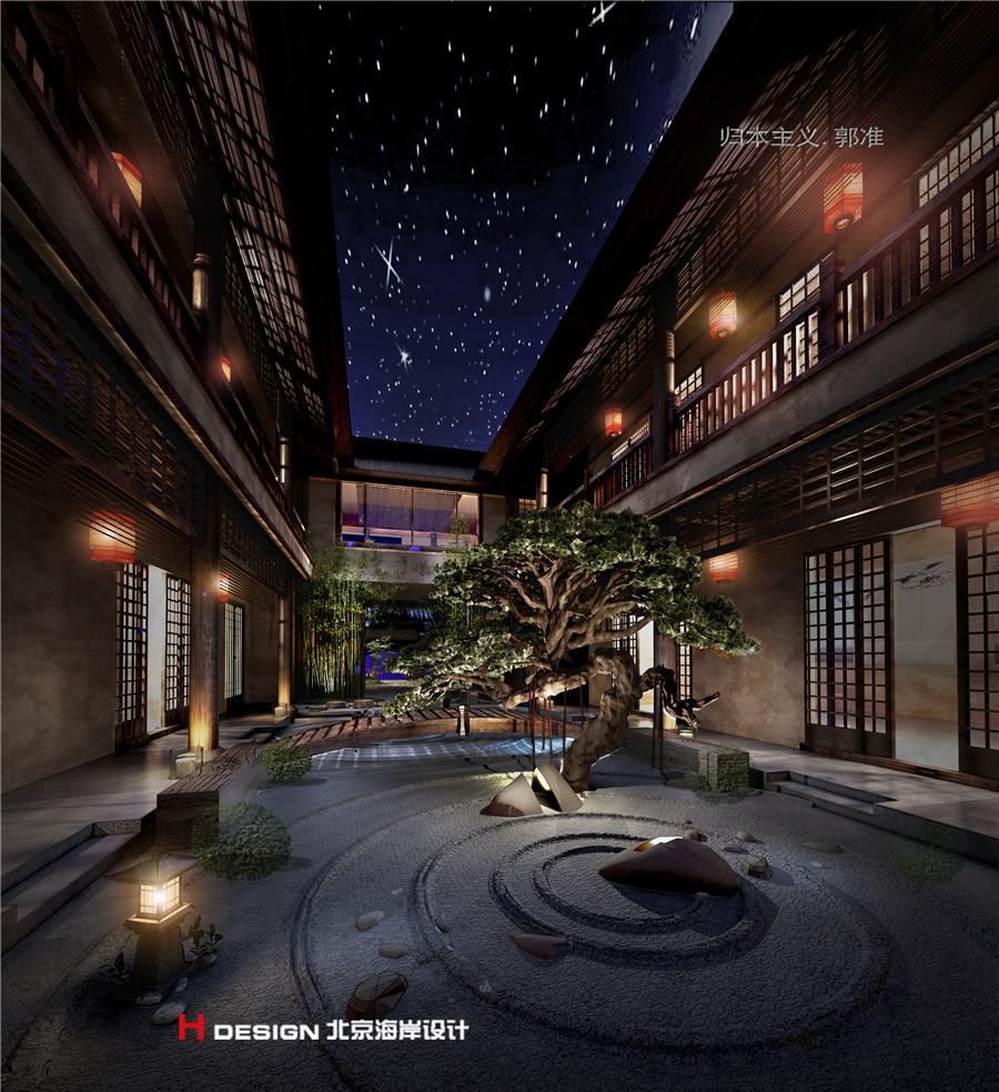 民宿banner背景素材