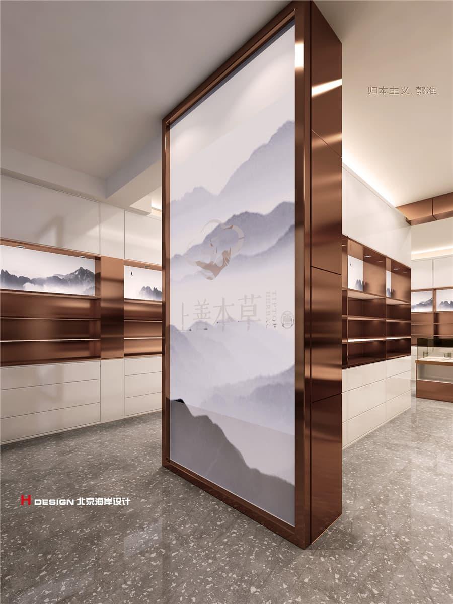 中草药店设计